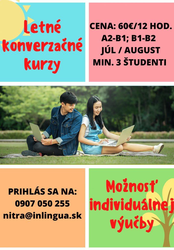 Letné konverzačné kurzy