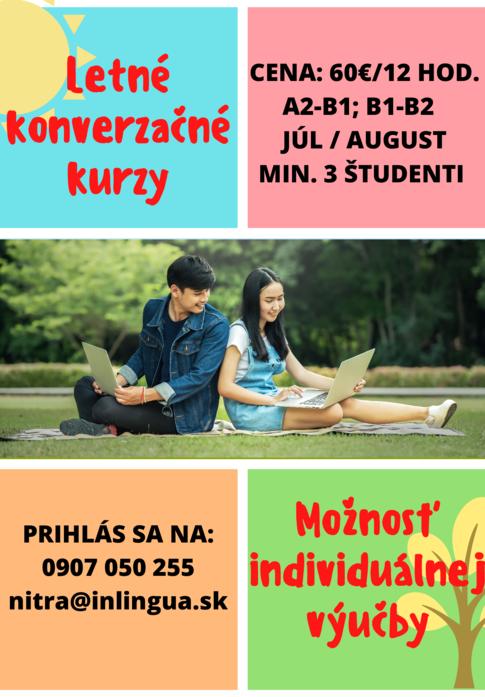 Letné konverzačné kurzy 2021
